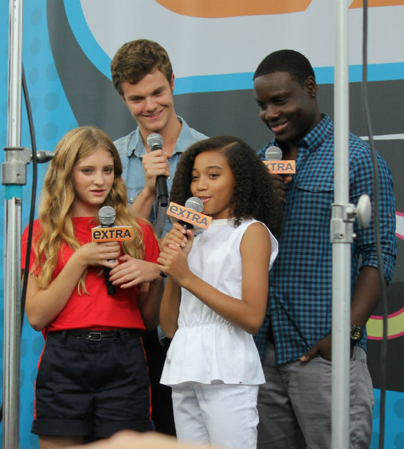 Hunger Games Cast at Comic Con 2012