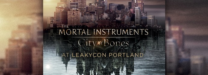 City of Bones to Rattle Into LeakyCon with Footage from the Film