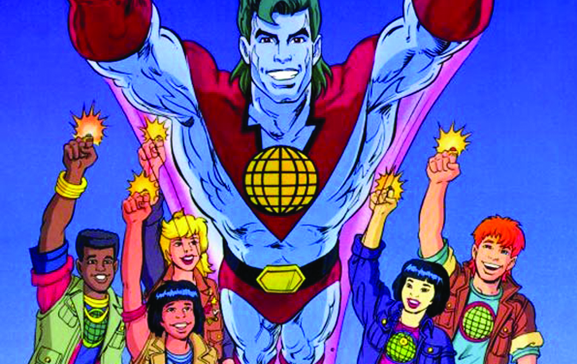 Captain planet movie in the works geekynews