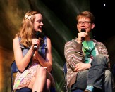 Kristina Horner and Hank Green