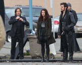 Mr Gold, Belle & Hook.