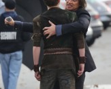 Mr. Gold (Robert Carlyle) going to stab Peter Pan (Robbie Kay)?