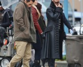 Neal (Michael Raymond-James), Emma (Jennifer Morrison) and Hook (Colin O'Donoghue)