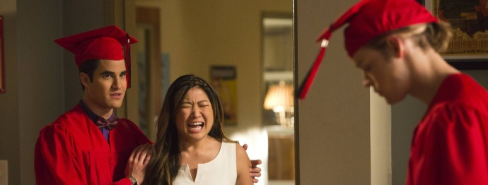 Glee 5.10 Recap - Friendly Threesomes