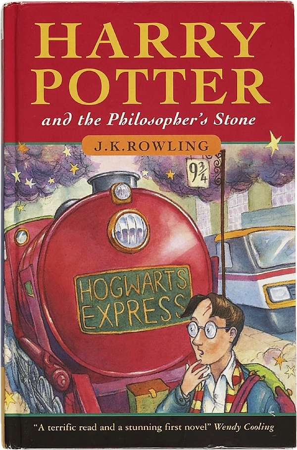 first edition harry potter collection at auction house