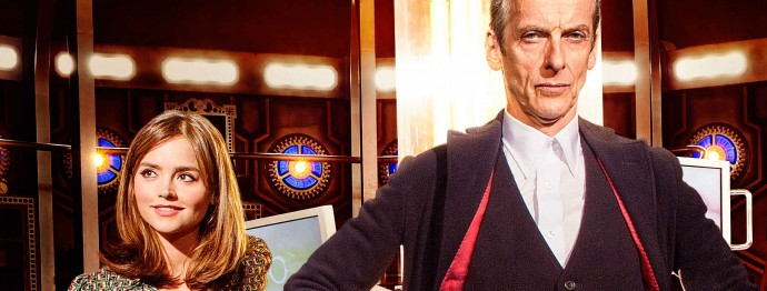 First Look at Peter Capaldi and Jenna Coleman in New Season of Doctor Who