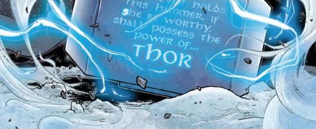 girl Thor #1 mjolnir