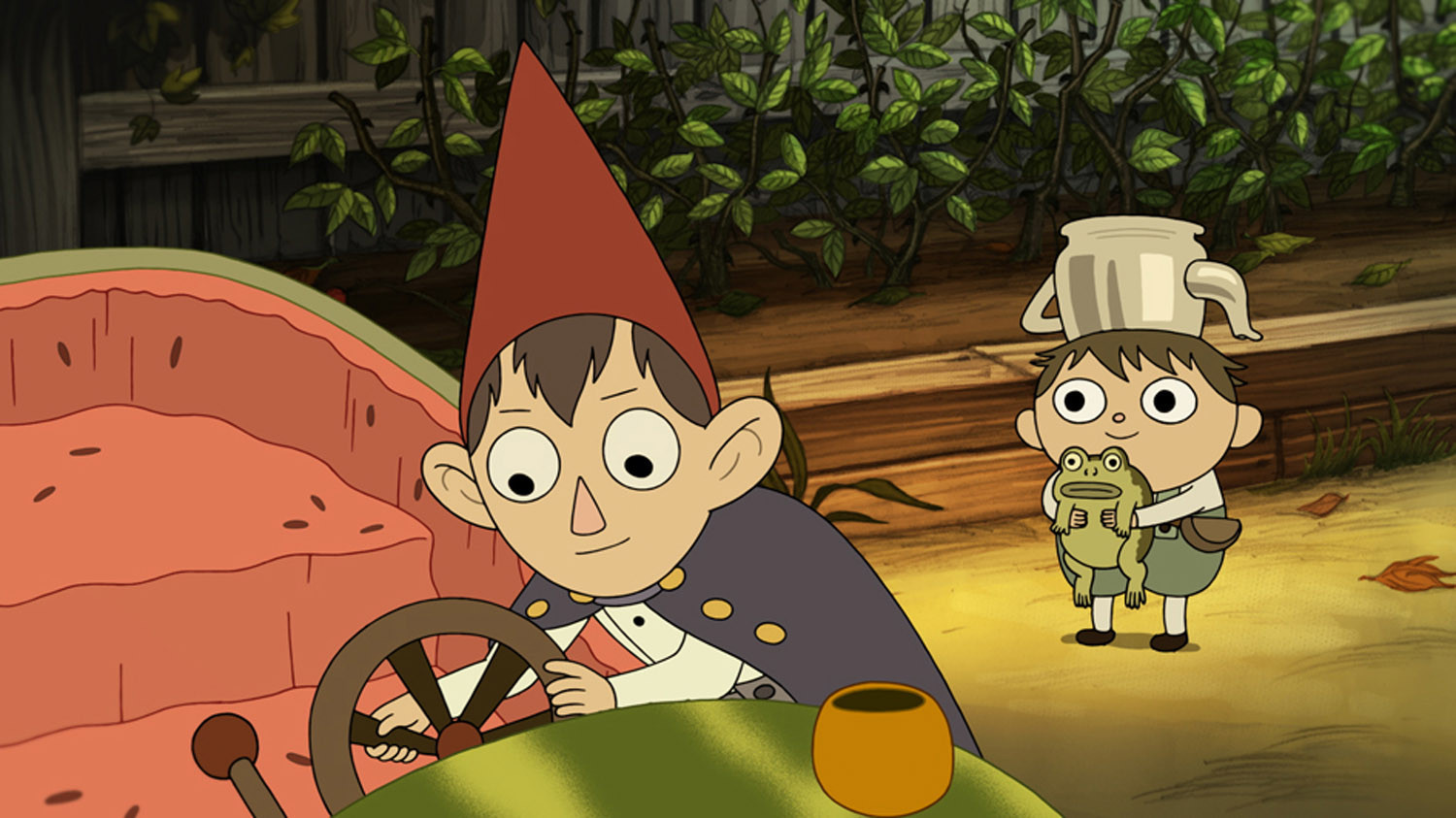 Cartoon Network Goes Over The Garden Wall