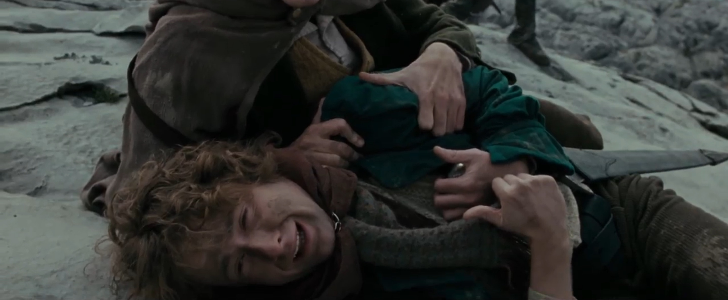 pippin crying