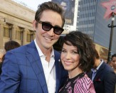 Lee Pace and Evangeline Lily