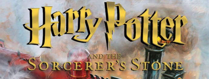 Cover Released for First Illustrated Harry Potter Book