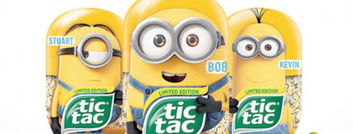 geeks in unlikely places tic tac minions hit store shelves
