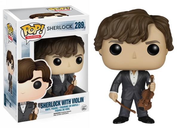 Funko Pop! - Sherlock Holmes with Violin