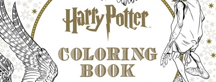 Harry Potter The Official Coloring Book Is On Its Way
