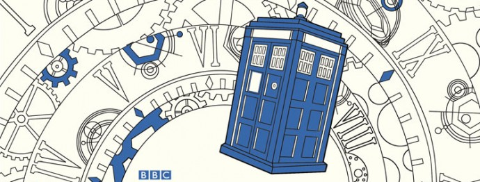 Doctor Who Coloring Book Announcement