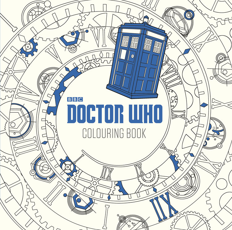 Doctor Who Coloring Book Announcement - GeekyNews