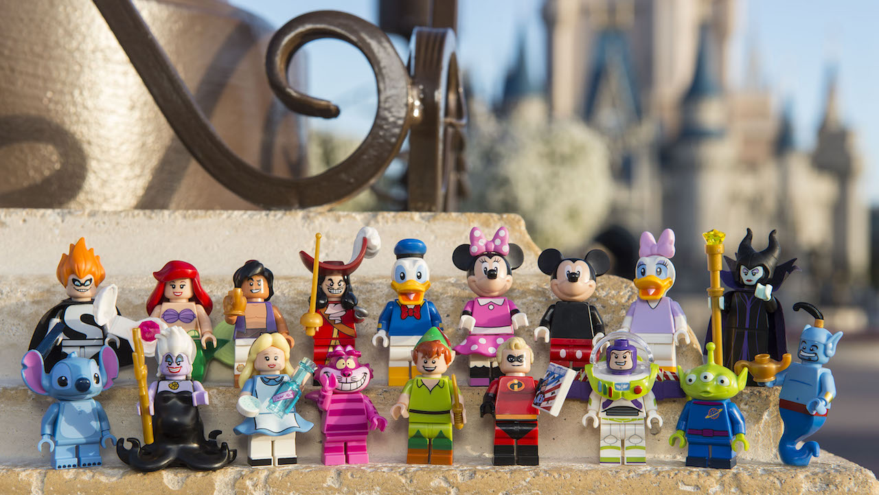 First Lego Disney Minifigure Series Images Released Geekynews