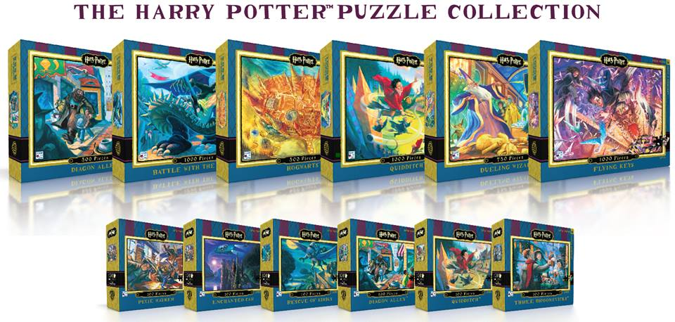 new harry potter jigsaw puzzles are coming geekynews. Black Bedroom Furniture Sets. Home Design Ideas